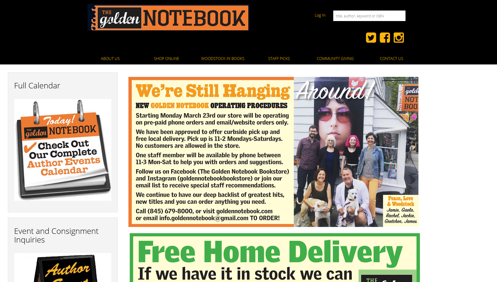 The Golden Notebook IndieLite Home Page